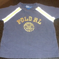 Navy/Yellow Polo Shirt-Polo Ralph Lauren Size 12-18 Months