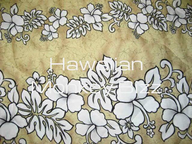 "tan - hibiscus & ferns"" hawaiian car seat covers - front & back!"