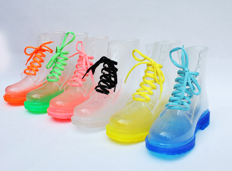 Color Rain Boots - Boot End