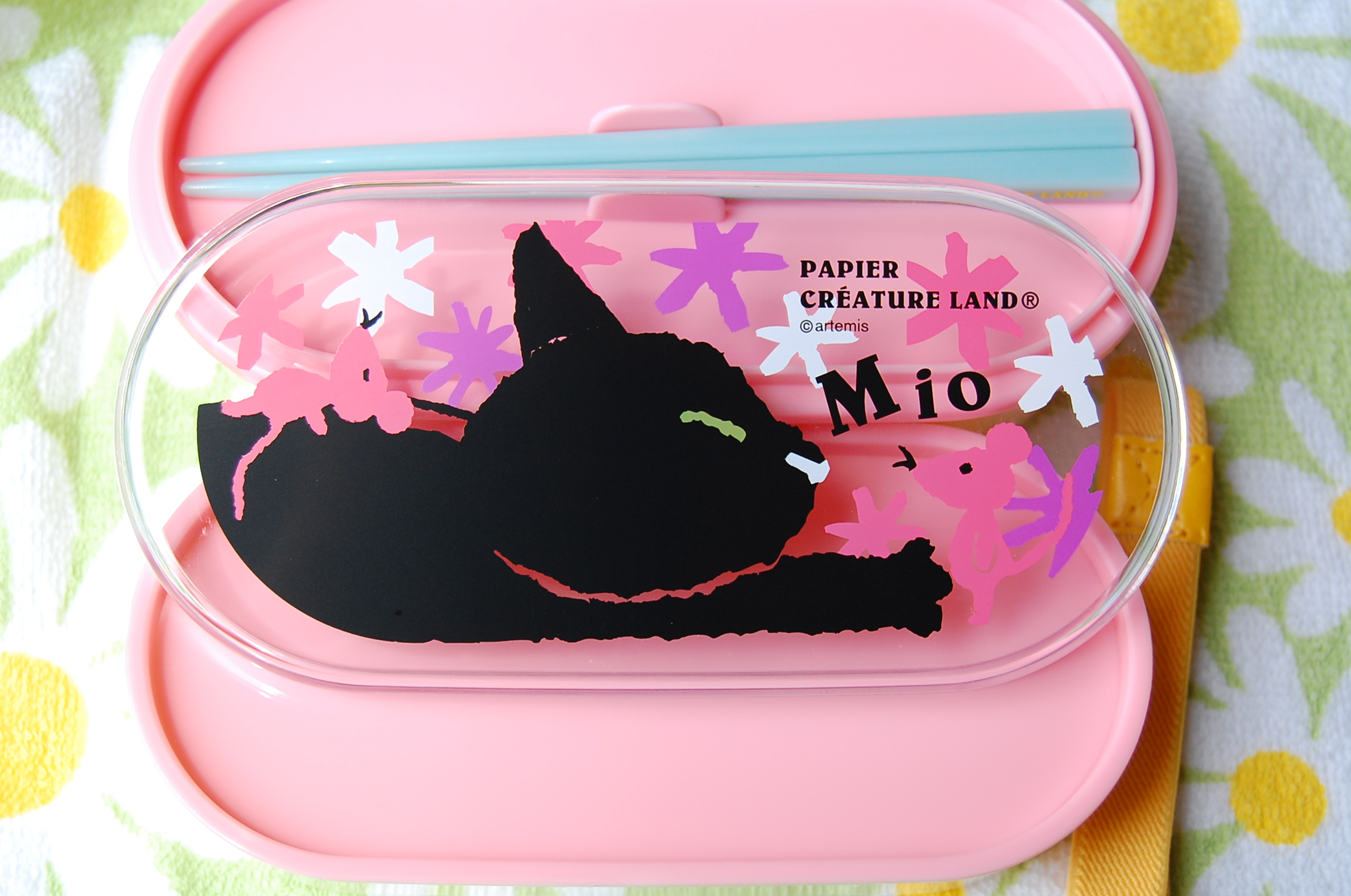 japanese 2 level bento lunch box papier mio in pink free shipping thelittlebow online. Black Bedroom Furniture Sets. Home Design Ideas