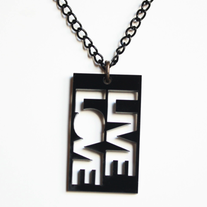 LIVE LOVE NECKLACE
