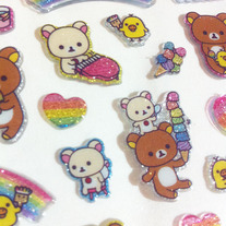 Rilakkuma 7th Anniversary Sticker v1.0