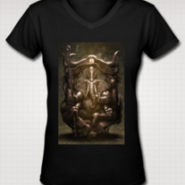 """GANESH"" T Shirt for Women (Black)"