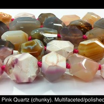 Chunky Quartz 16mm x 20mm