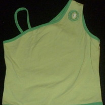 Lime Green Shirt-KC Parker Size 6X