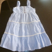 Blue/White Dress-Calvin Klein Size 3T