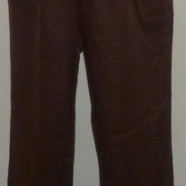 Brown Linen Pants-Motherhood Maternity Size Large