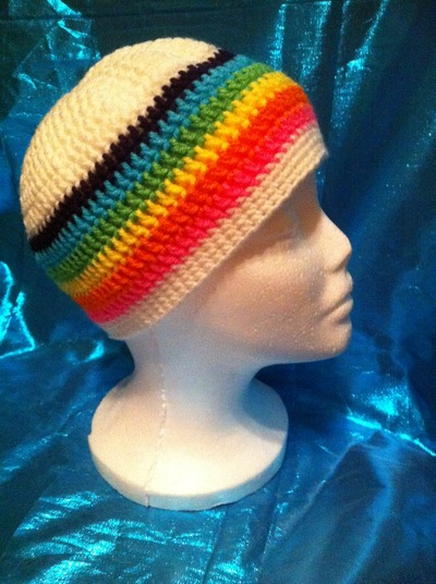Rainbow Beanie - DESTASH SALE