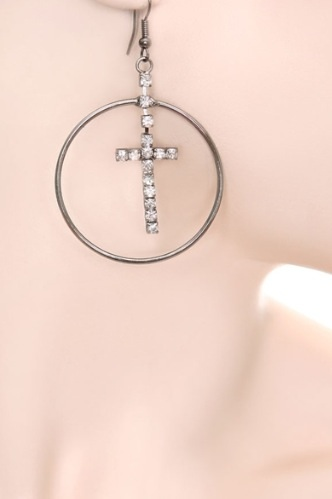 Hoops and crosses coupon