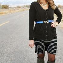 Skinny Sequin Fashion Belt- Six Colors