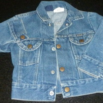 Jean Jacket-Rustler Size Medium
