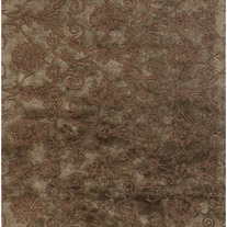 Contemporary Rugs Cassina Chocolate Brown