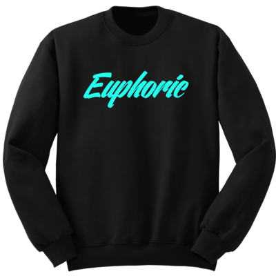 Original mint script crewneck