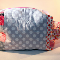 Patchwork Box Bag