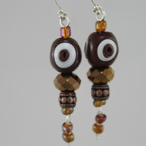 Sparkle Ox Blood Earrings