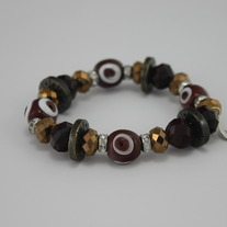 Sparkle Ox Blood Bracelet