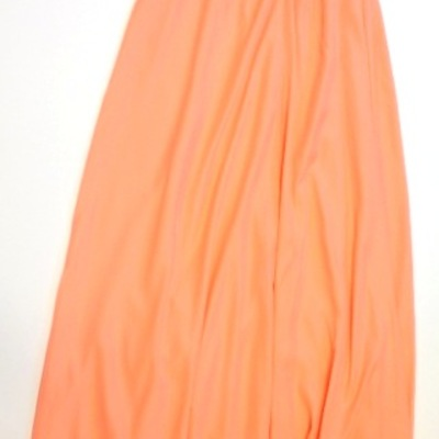 Resort maxi peach