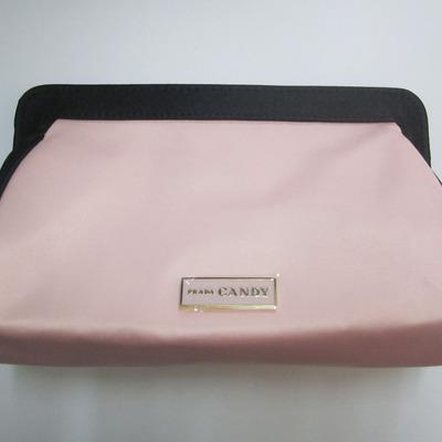 PRADA Cosmetic Bag / PARFUMS Pink \u0026amp; Black Cosmetic Bag / Phone ...