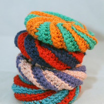 Crochet Scrubbies Set of 4
