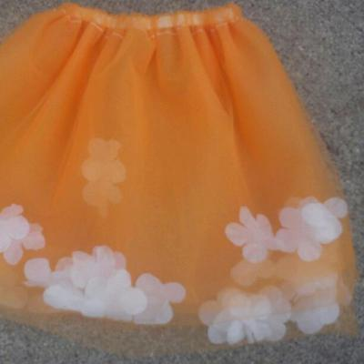 Flower princess big kid short tutu
