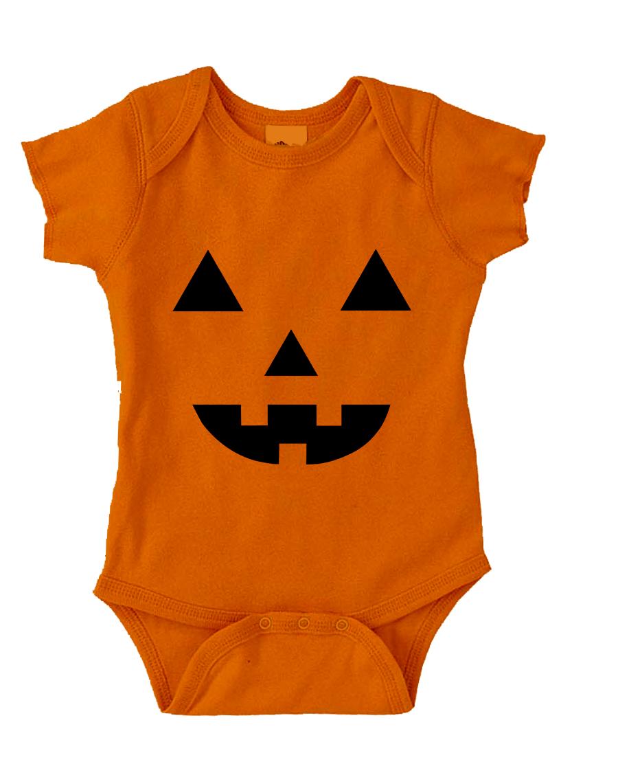 Pumpkin Face Onesie Funny Baby Onesie Cute Baby Stuff Baby