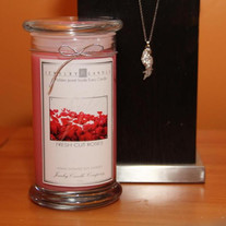Fresh Cut Roses Jewelry Candle