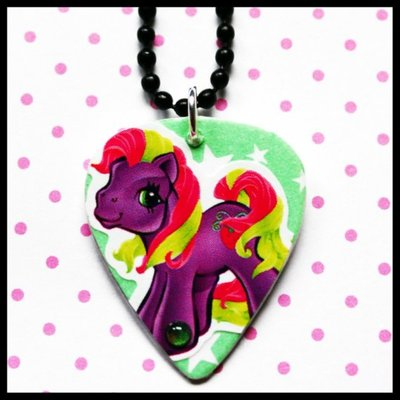Lick your pick my little pony diy necklace charm