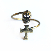 Skull & Cross Ring