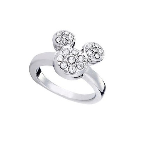 Mickey Mouse Ring - Silver