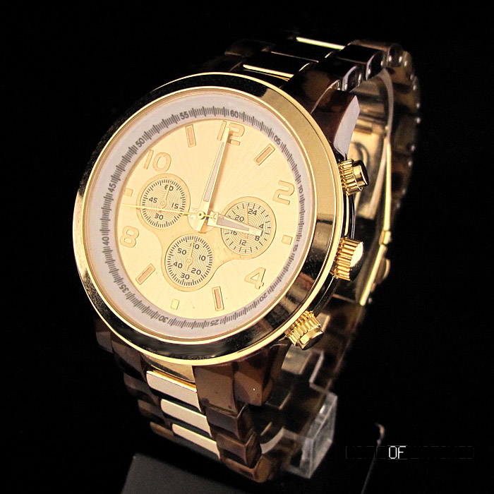 high end man men s gold and tortoise shell watch inspired by men s gold and tortoise shell watch inspired by michael kors