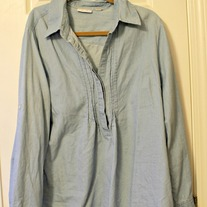 Light Chambray Tunic- New York & Co, XL