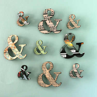 Small ampersand (&) pin