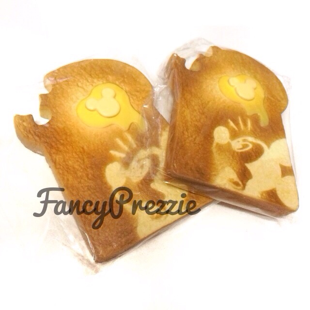 Squishy Jumbo Toast : Jumbo Disney Toast Squishy ? FancyPrezzie ? Online Store Powered by Storenvy