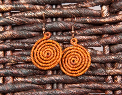 The Sound Of Hope Small Thai Circle Earrings Online