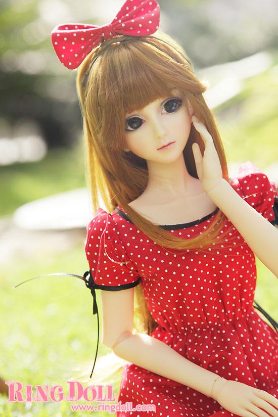 ringdoll ball jointed doll 59cm bjd girl wagashi style b