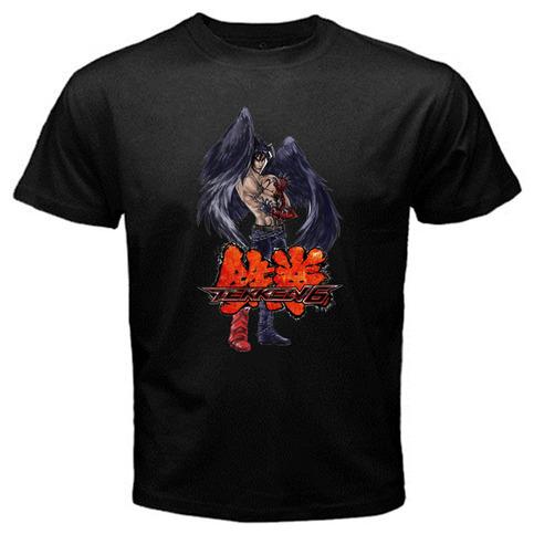 Devil Jin Kazama Tekken 6 Tag Tournament 2 Game Logo Black