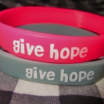 give hope wristbands
