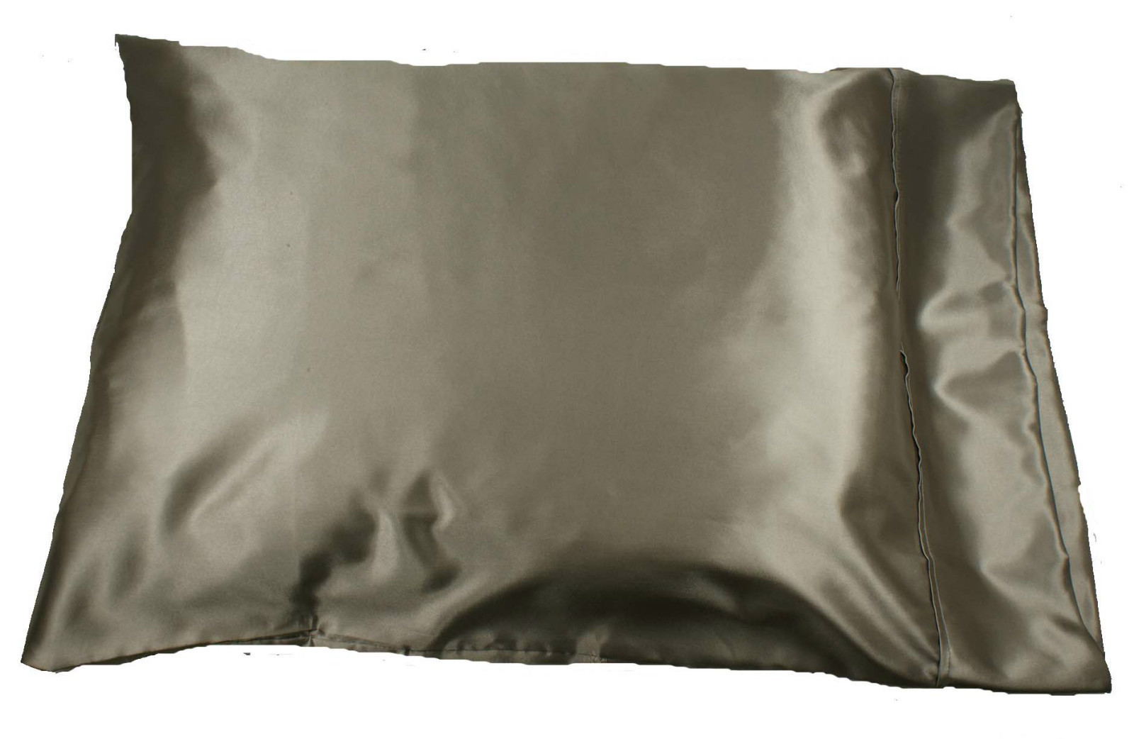 1pc New Queen Standard Size Silky Satin Pillow Case