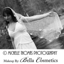 Crushed Tulle Drop Veil - Thumbnail 3