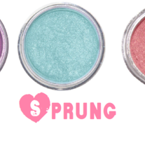 Sprung Eyeshadow Stack