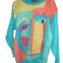 Jeanne Pierre  Abstract Sweater