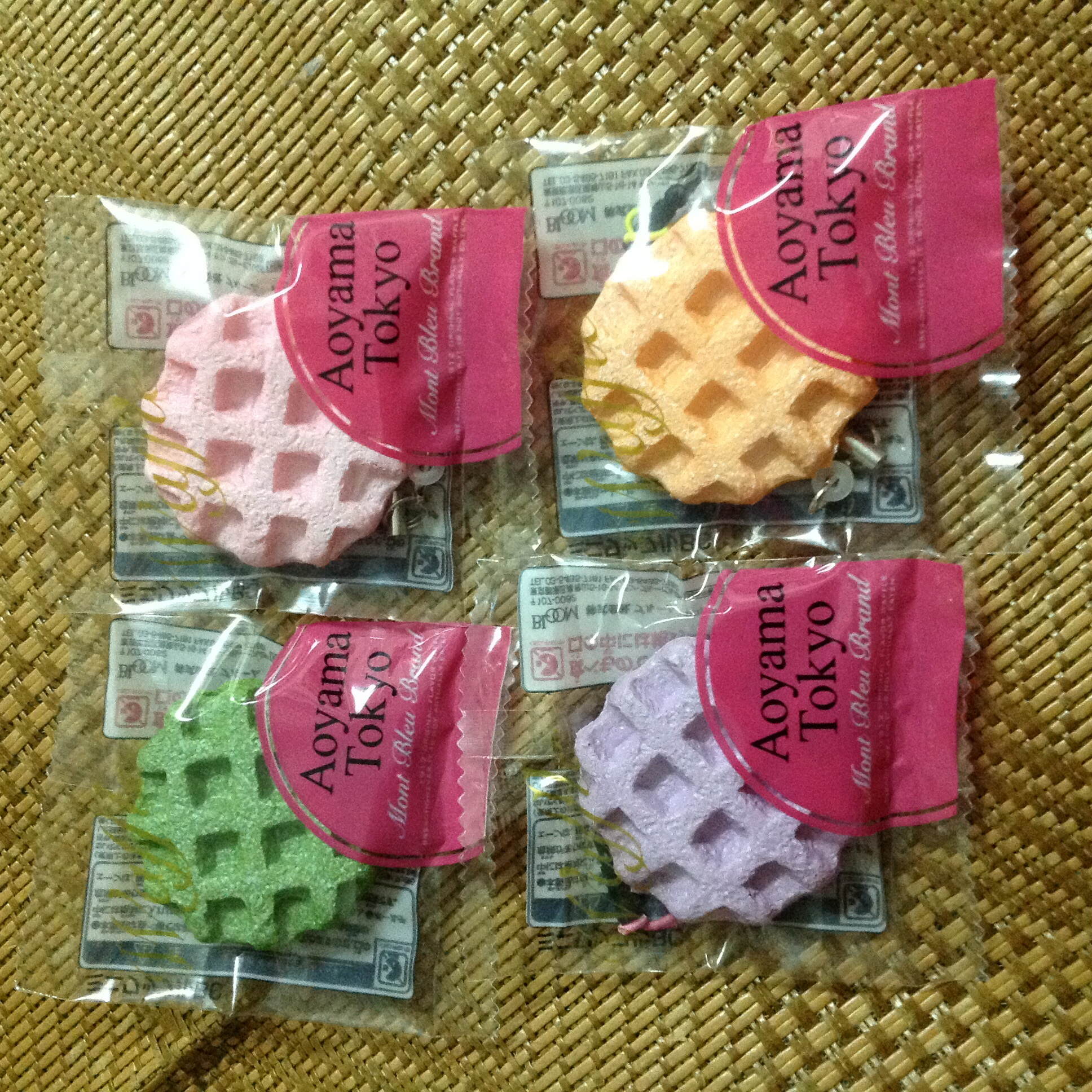Squishy Collection Bloom : ~SquishyStuff~ I-bloom licensed Aoyama Small Tokyo Squishy Waffle Set Online Store Powered ...