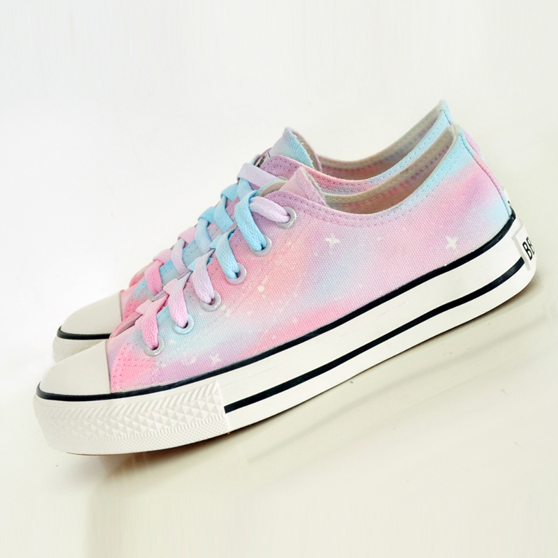 harajuku galaxy canvas shoes 183 sanrense 183 store
