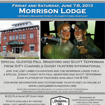 Morrison Lodge June 7&8, 2013: Platinum VIP