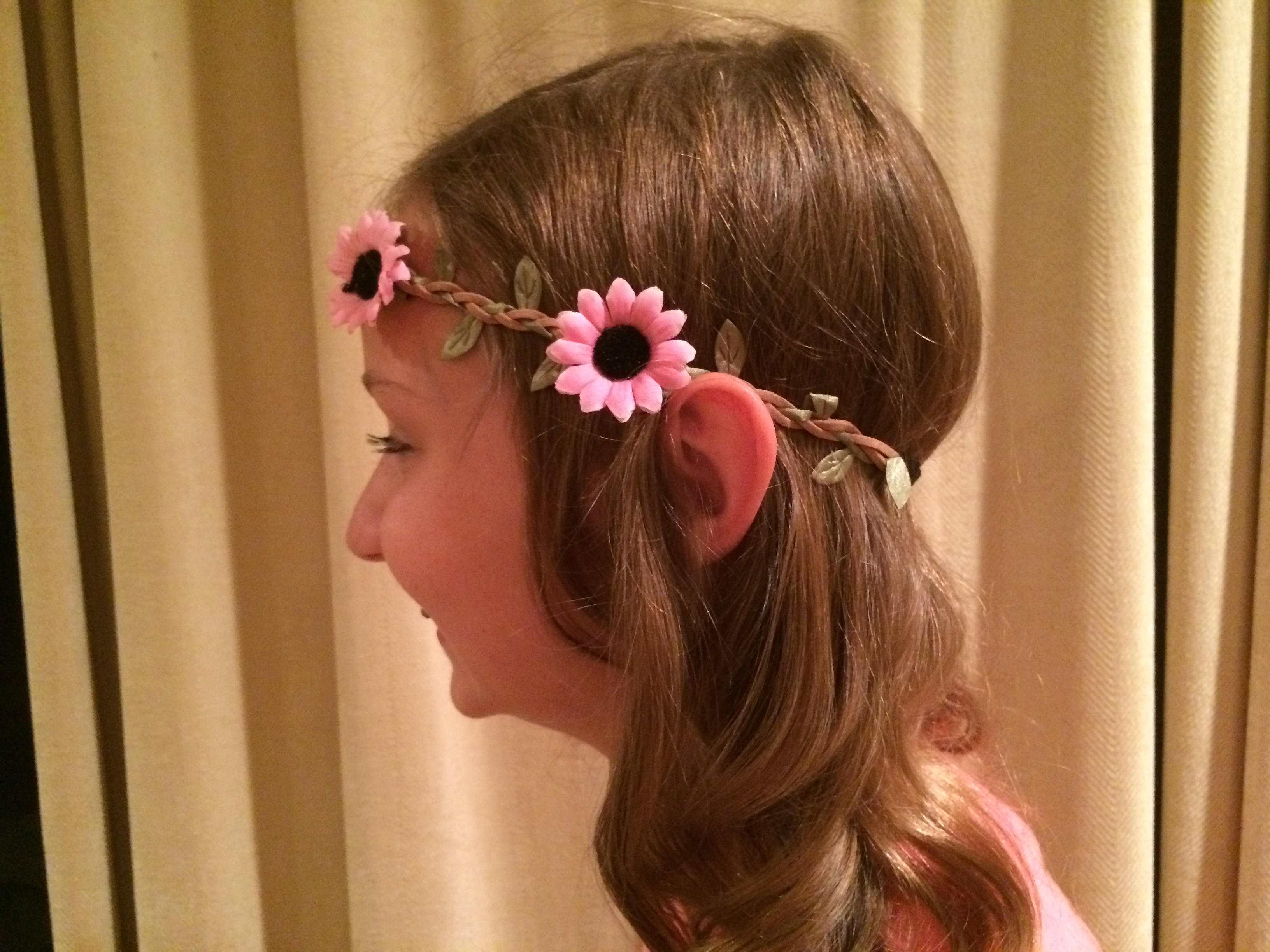 Pink Flower Crown Annas Bow Company Online Store Powered By
