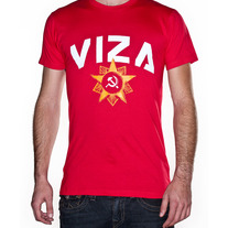 Red Soviet Mens Shirt