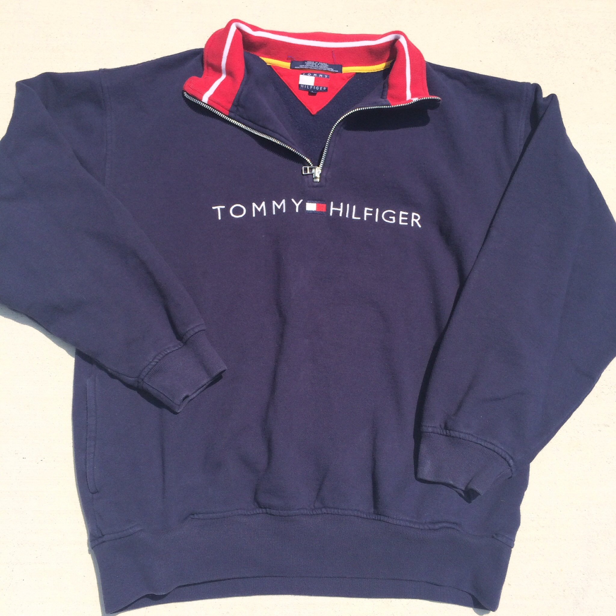 sold out vintage tommy hilfiger pullover sweatshirt on storenvy