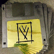 "Cracked Vessel ""Path III 1/2 Inch Floppy Disk"""