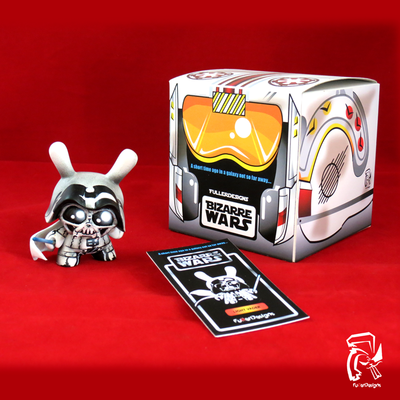 "Bizarre wars 3"" dunny series: light vader"