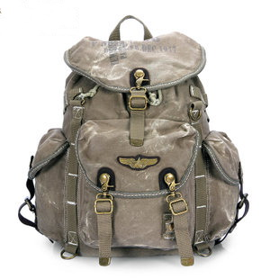 best cool canvas backpack | weekend daypack · Vintage rugged ...